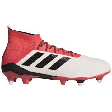 adidas Stollen-SohlePredator 18.1 SG weiß