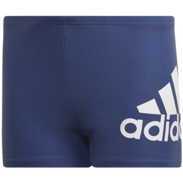 adidas BadeshortsYA BOS BOXER blau