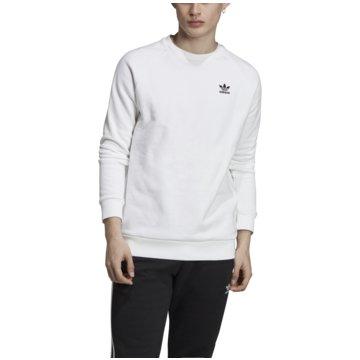adidas Originals SweaterESSENTIAL CREW - ED6208 weiß