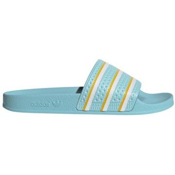 adidas Originals BadelatscheADILETTE blau