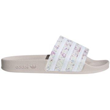 adidas Originals BadelatscheAdilette Slipper weiß