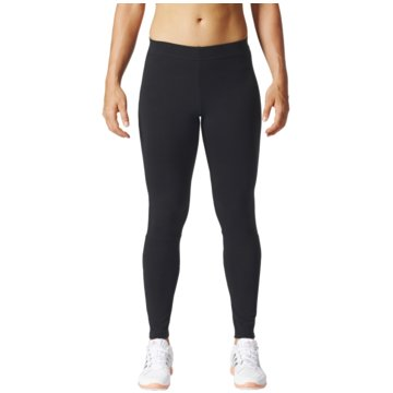 adidas TightsEssentials Linear Tight Frauen Running Leggings schwarz schwarz