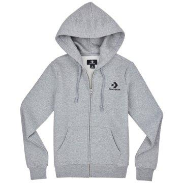 Converse HoodiesStar Chevron Embroidered Full Zip Hoodie grau
