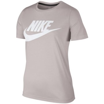 Nike FunktionsshirtsEssential T-Shirt Damen beige