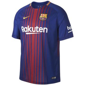 Nike FanartikelFC Barcelona Heimtrikot Herren Home 2017/2018 blau rot gold -