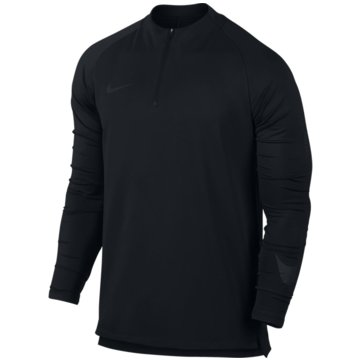 Nike SweaterDry Squad Football Drill Top schwarz