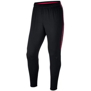 Nike Lange HosenDry Squad Football Pants schwarz