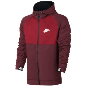 Nike SweatjackenSportswear Advance 15 Hoodie rot