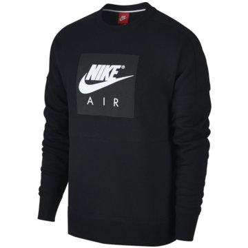 Nike SweaterAir Fleece Crew schwarz