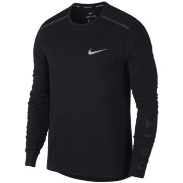 Nike SweaterBreathe Tailwind Running Top schwarz
