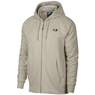 Nike SweatjackenSportswear Optic Fleece Hoodie beige