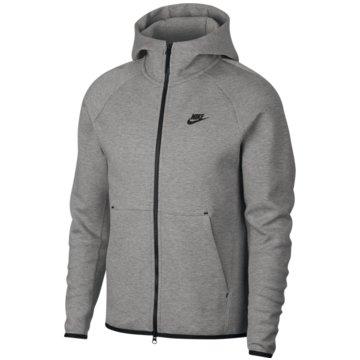 Nike SweatjackenSportswear Tech Fleece Hoodie grau