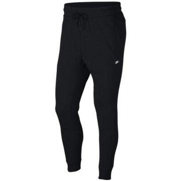 Nike Lange HosenSPORTSWEAR OPTIC FLEECE - 928493-011 schwarz