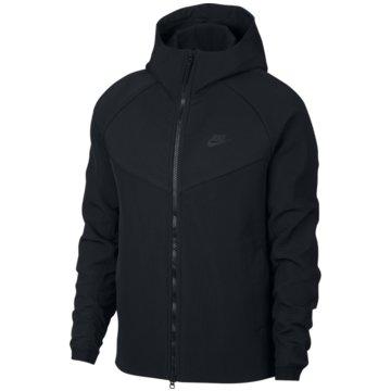 Nike SweatjackenSportswear Tech Pack Hoodie schwarz