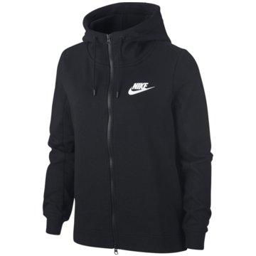 Nike SweatjackenOptic Full-Zip Hoodie schwarz