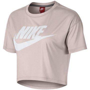 Nike FunktionsshirtsSportswear Essential Crop Top beige