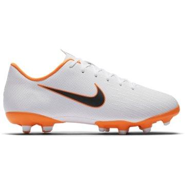 Nike FußballschuhJr. Mercurial Vapor 12 Academy MG weiß