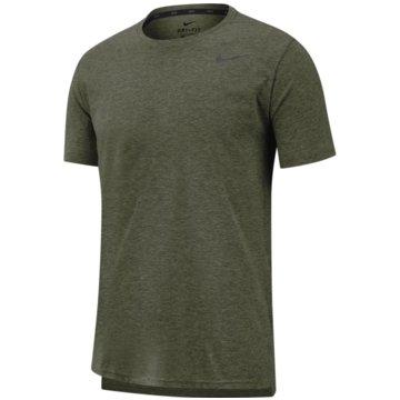 Nike T-ShirtsNIKE DRI-FIT BREATHE MEN'S SHORT-SL - AJ8002 oliv