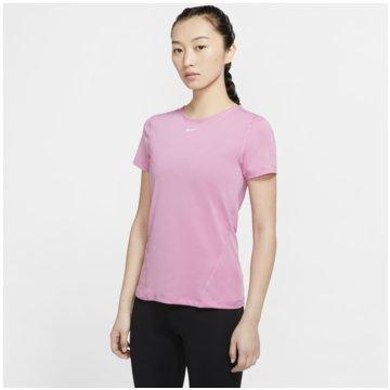 Nike T-ShirtsNIKE PRO WOMEN'S SHORT-SLEEVE MESH rot