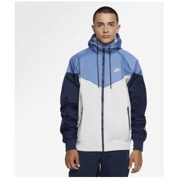 Nike SweatjackenNike Sportswear Windrunner Hooded Windbreaker - AR2191-028 weiß
