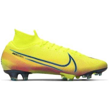 Nike Nocken-SohleNIKE MERCURIAL SUPERFLY 7 ELITE MDS gelb