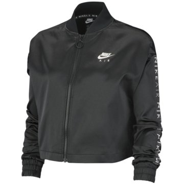 Nike TrainingsjackenW NSW AIR TRK JKT SATIN - BV4779 schwarz