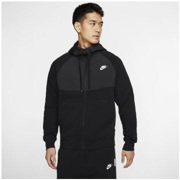 Nike SweatjackenSportswear Full-Zip Hoodie schwarz