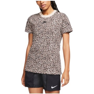 Nike T-ShirtsSportswear Animal Print Tee beige