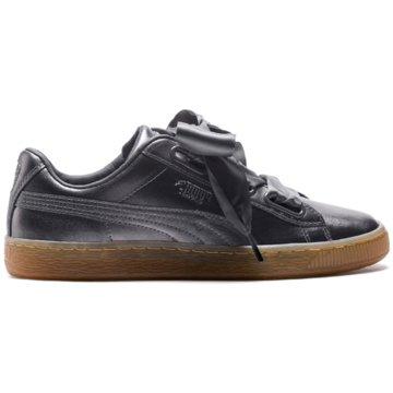 Puma Sneaker LowBasket Heart Luxe Sneaker schwarz