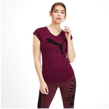 Puma T-ShirtsHeather Cat Damen Training V-Neck T-Shirt -
