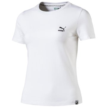 Puma DamenClassic Logo Tight Tee -