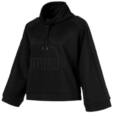 Puma HoodiesDowntown Winterized Crew schwarz