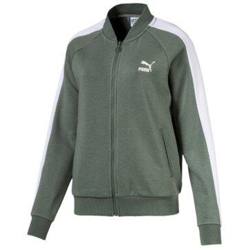 Puma HoodiesClassics T7 Track Jacket oliv