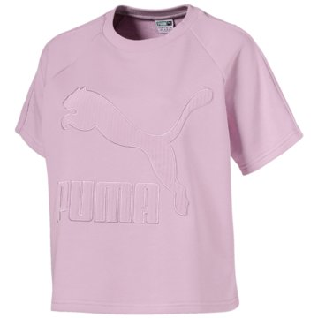 Puma T-ShirtsDowntown Structured Top rosa