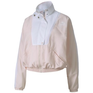 Puma FleecejackenTFS Woven Track Jacket rosa