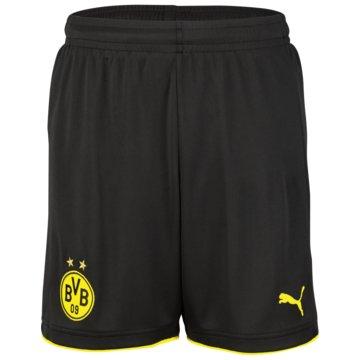 Puma Fan-HosenBVB Borussia Dortmund Kinder Home Shorts 2016/17 schwarz schwarz