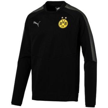 Puma SweaterBVB Casuals Sweatshirt Borussia Dortmund Herren Pullover schwarz schwarz
