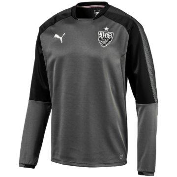 Puma SweaterVfB Stuttgart Sweatshirt Herren schwarz grau -