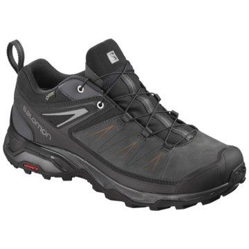 Salomon Outdoor SchuhX Ultra 3 Leather GTX schwarz