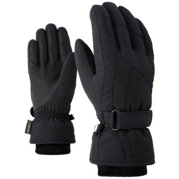 Ziener FingerhandschuheKARMA GTX + GORE PLUS WARM LADY GLO - 801138 schwarz