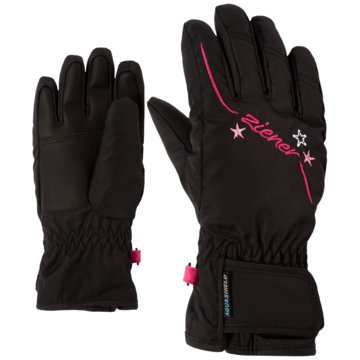 Ziener FingerhandschuheLULA AS(R) GIRLS GLOVE JUNIOR - 801942 schwarz