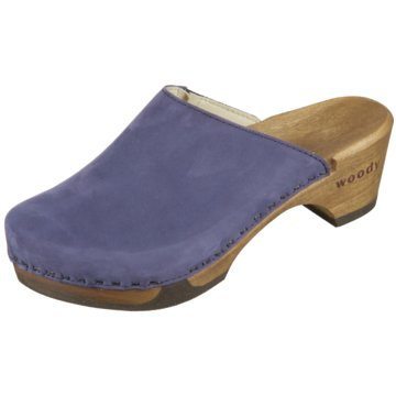 Woody Clog blau