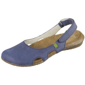 El Naturalista Komfort Slipper blau