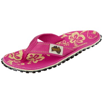 Gumbies Offene Schuhe pink