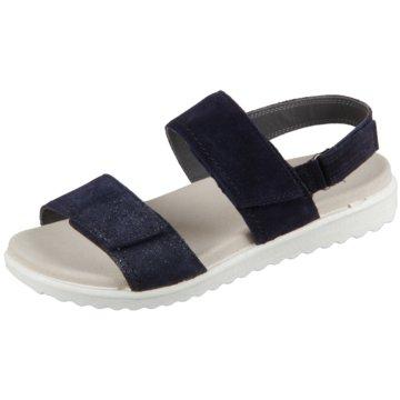 Superfit Komfort Sandale blau