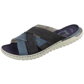 Bugatti Komfort Sandale blau