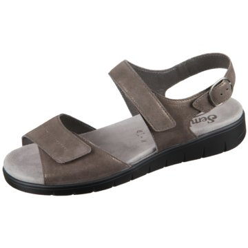 Semler Komfort Sandale braun