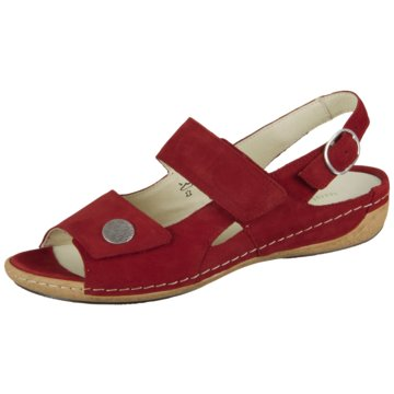 Waldläufer Komfort SandaleDENVER rot