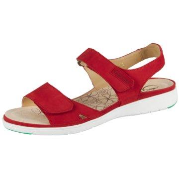 Ganter Komfort Sandale rot