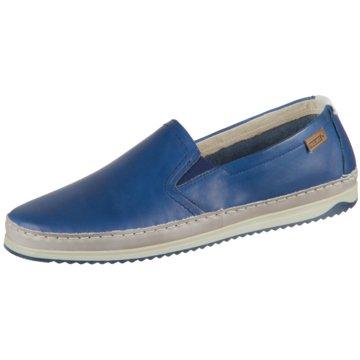 Pikolinos Sportlicher SlipperMotril blau